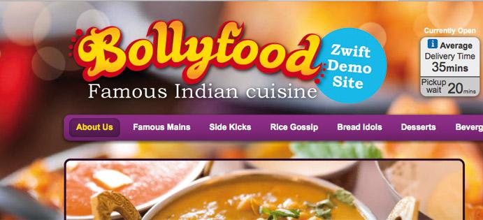Online Ordering Test Website - Indian Restaurant